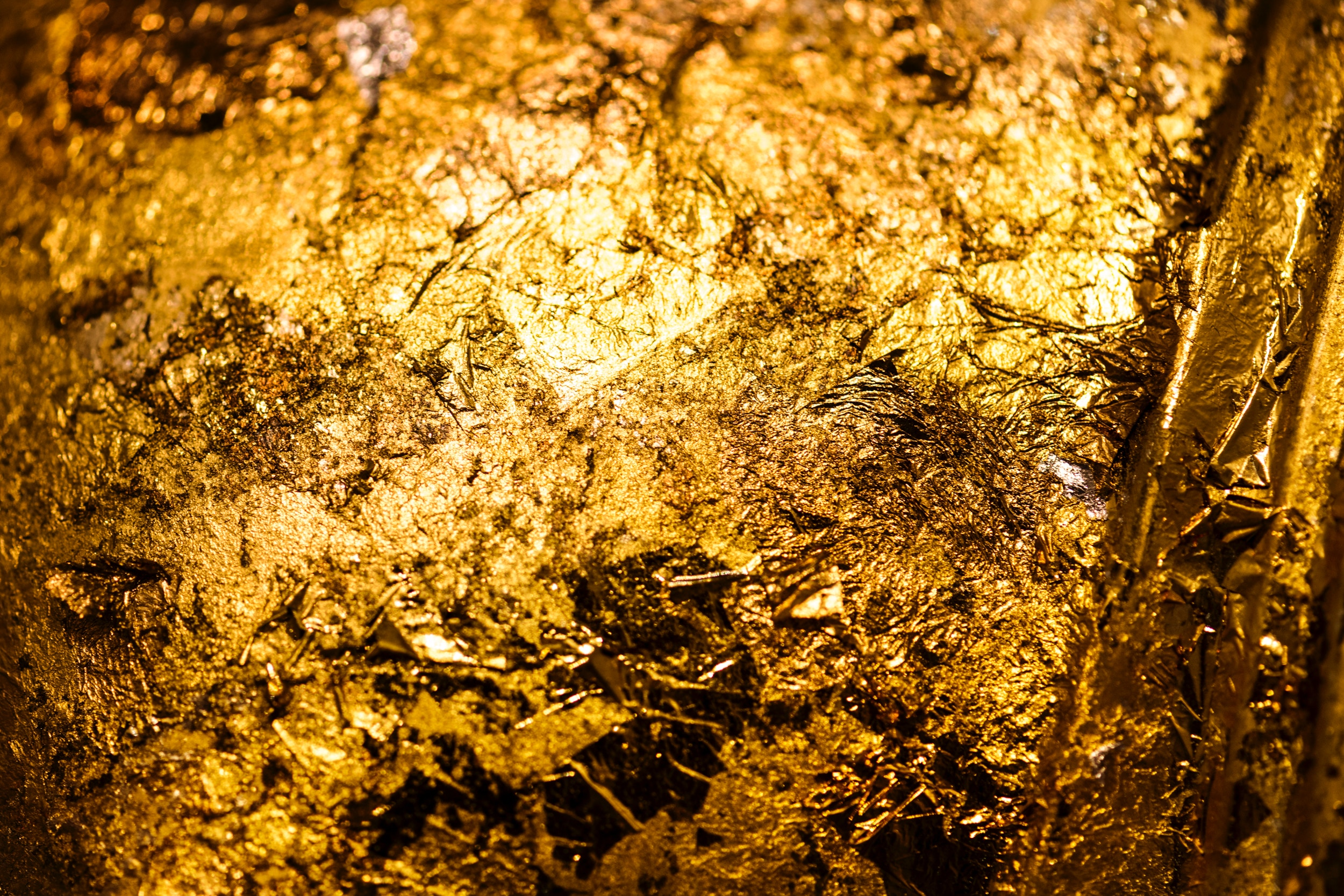 Luxury Packaging With Gold Texture